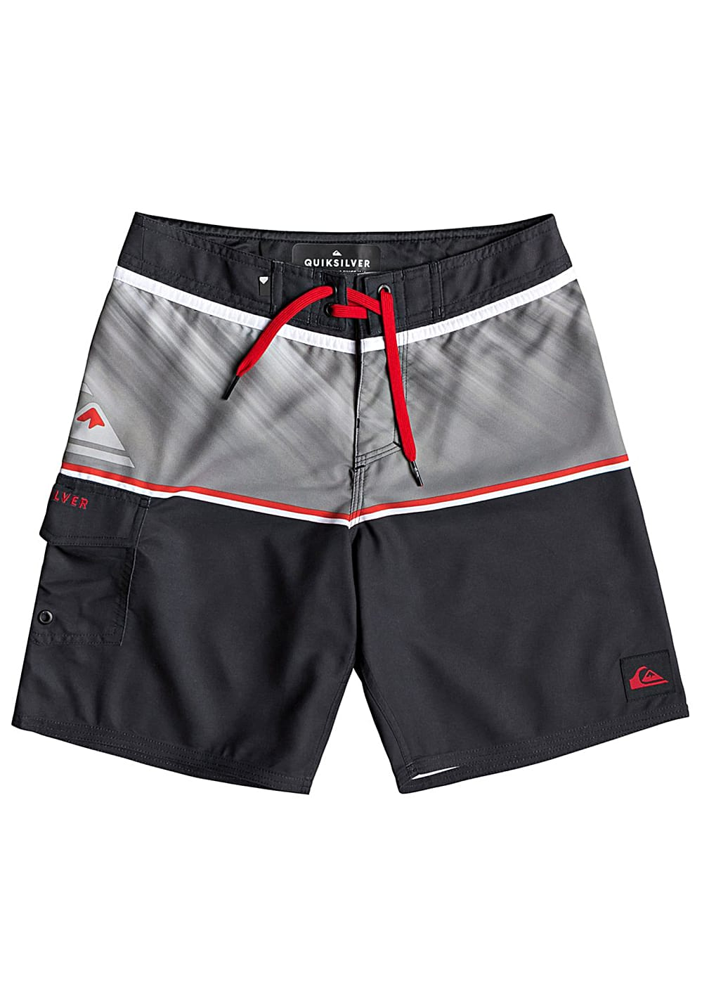 Boysbademode - Quiksilver Everyday Division 16 Boardshorts für Jungs Schwarz - Onlineshop Planet Sports
