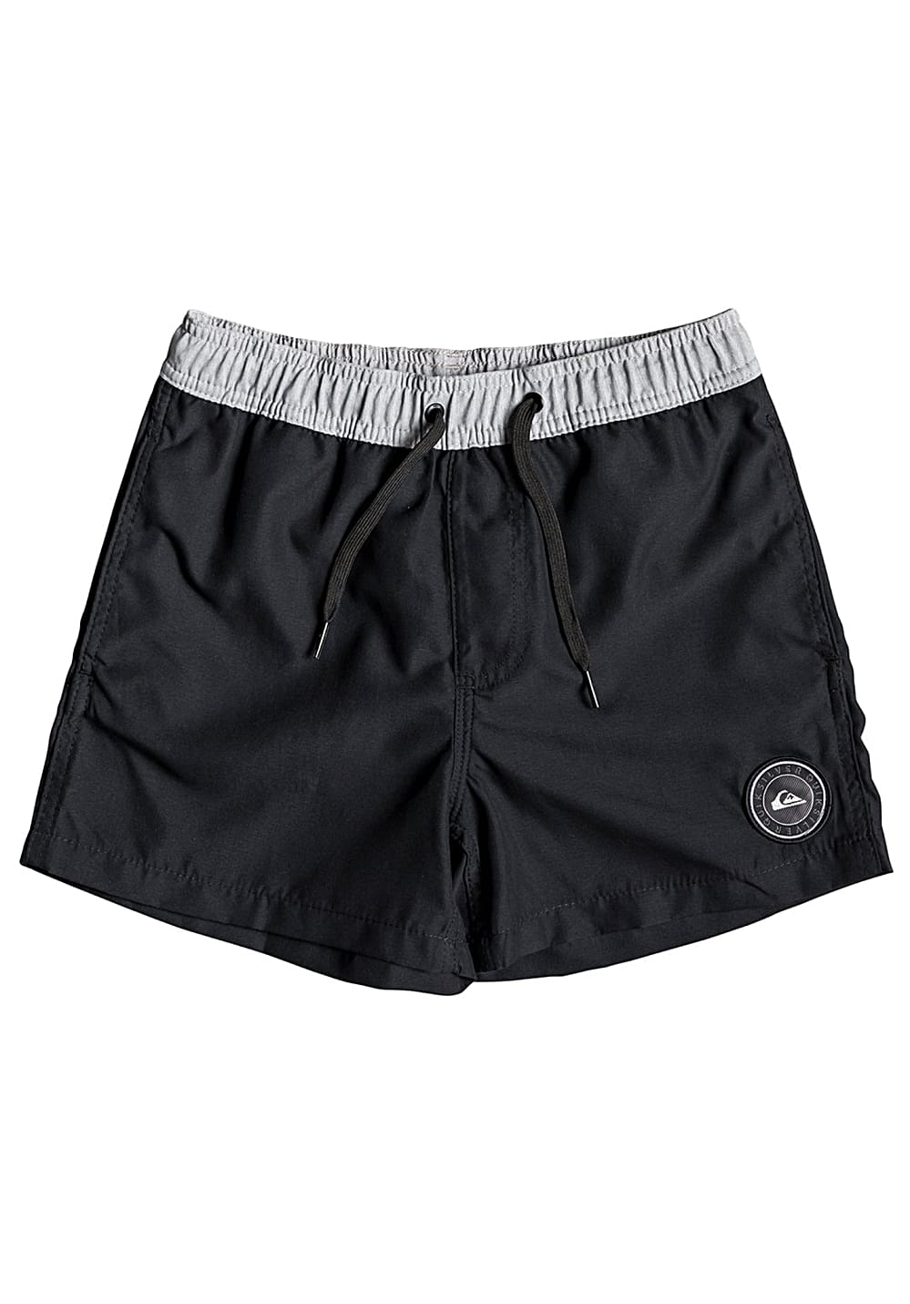 Boysbademode - Quiksilver Glitch Volley 13 Boardshorts für Jungs Schwarz - Onlineshop Planet Sports