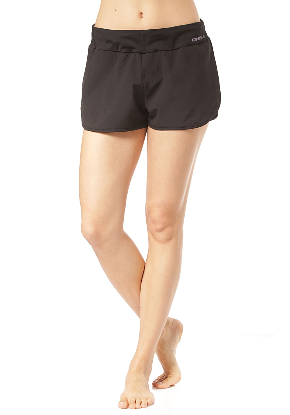 Bademode - O'Neill Essential Boardshorts für Damen Schwarz  - Onlineshop Planet Sports