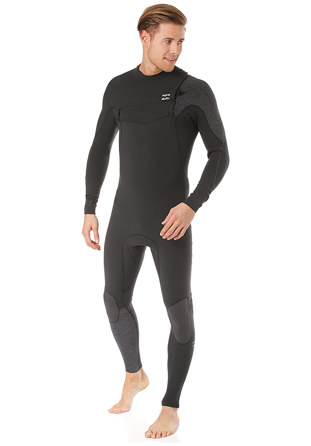 BILLABONG Furnace Carbon Comp 4/3Mm Chest Zip - Neoprenanzug für Herren -...