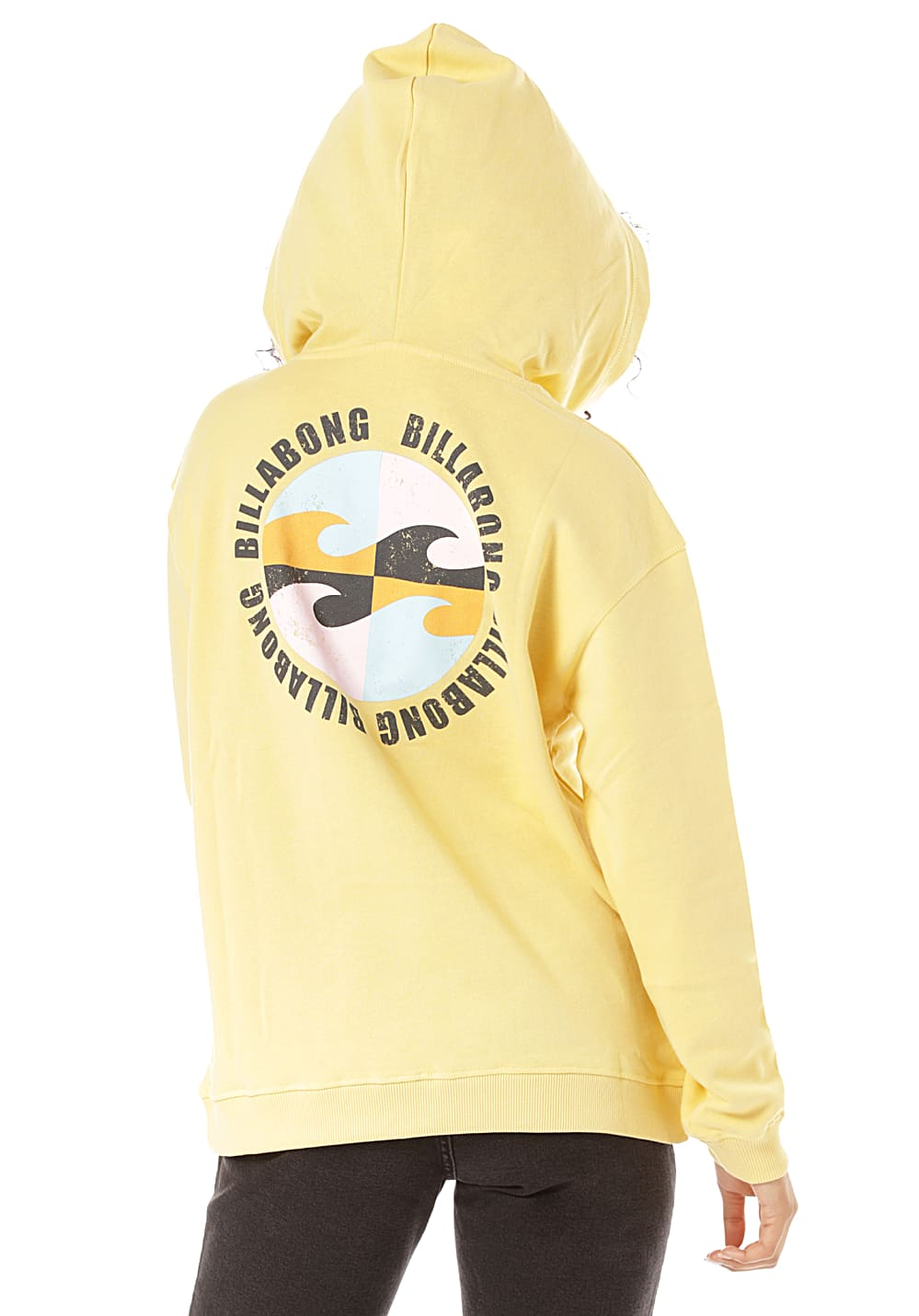 BILLABONG Windy Palm - Kapuzenpullover für Damen Gelb