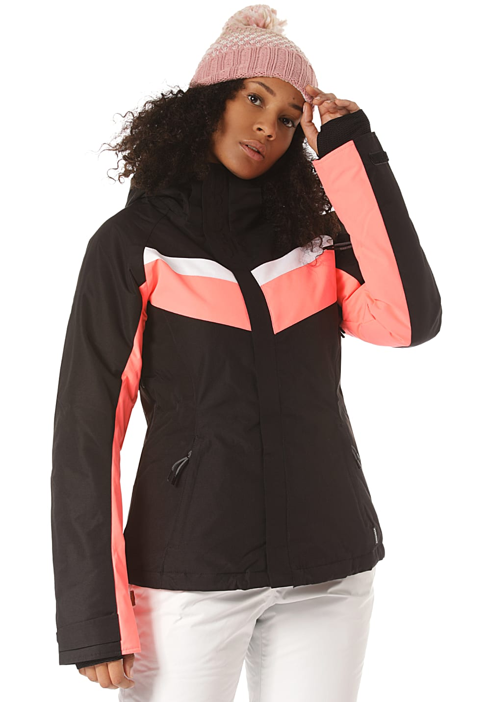 Jacken - Chiemsee Skijacke Skijacke für Damen Schwarz  - Onlineshop Planet Sports