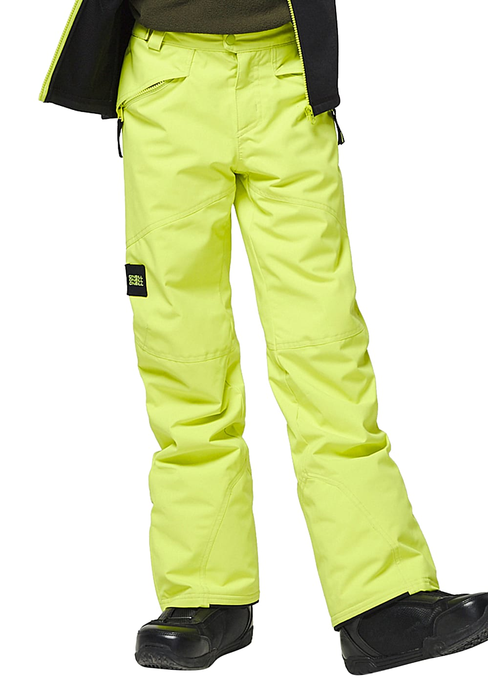 Boysregenwinter - O'Neill Anvil Snowboardhose für Jungs Gelb - Onlineshop Planet Sports