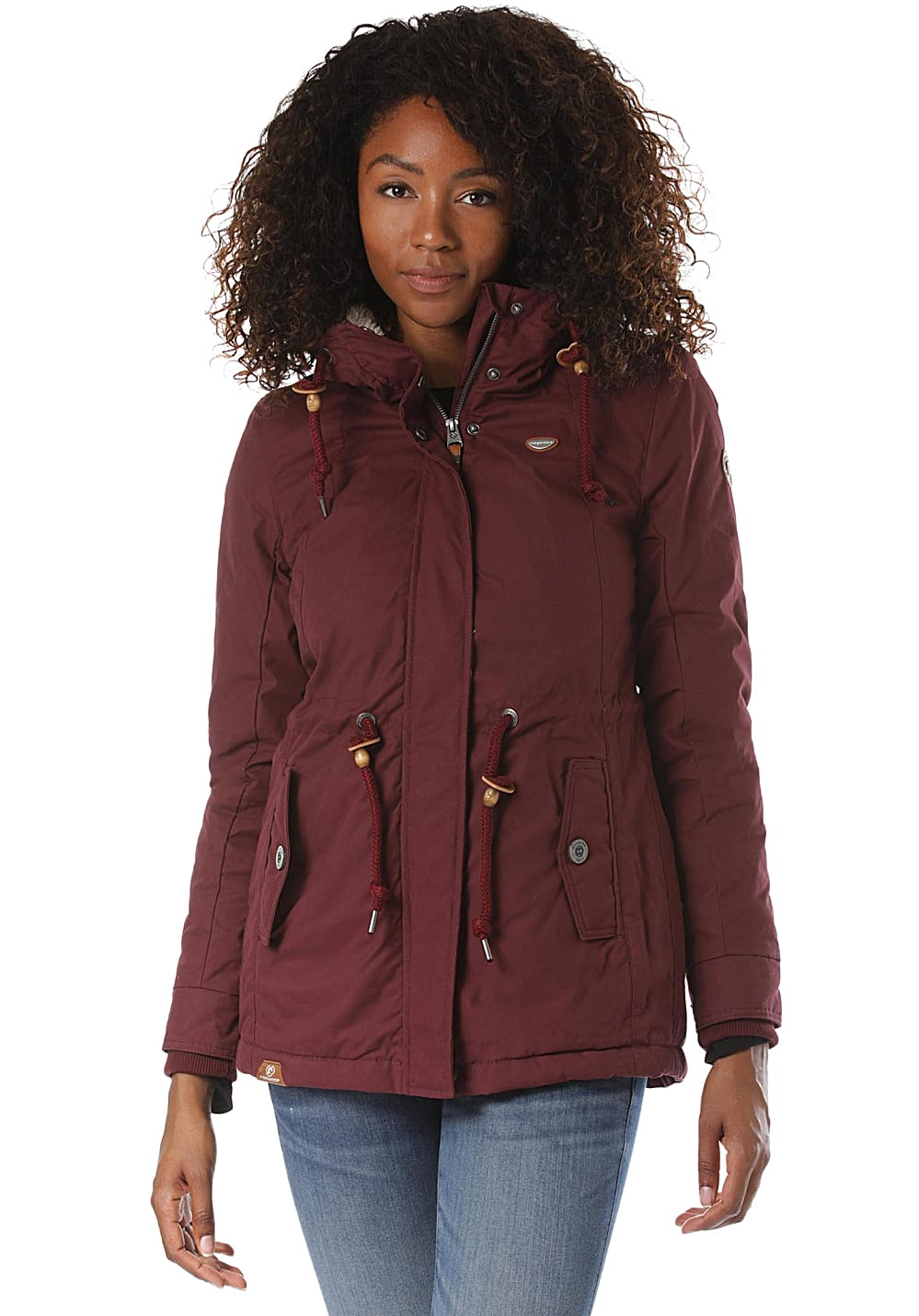 Jacken - ragwear Monadis Jacke für Damen Rot  - Onlineshop Planet Sports