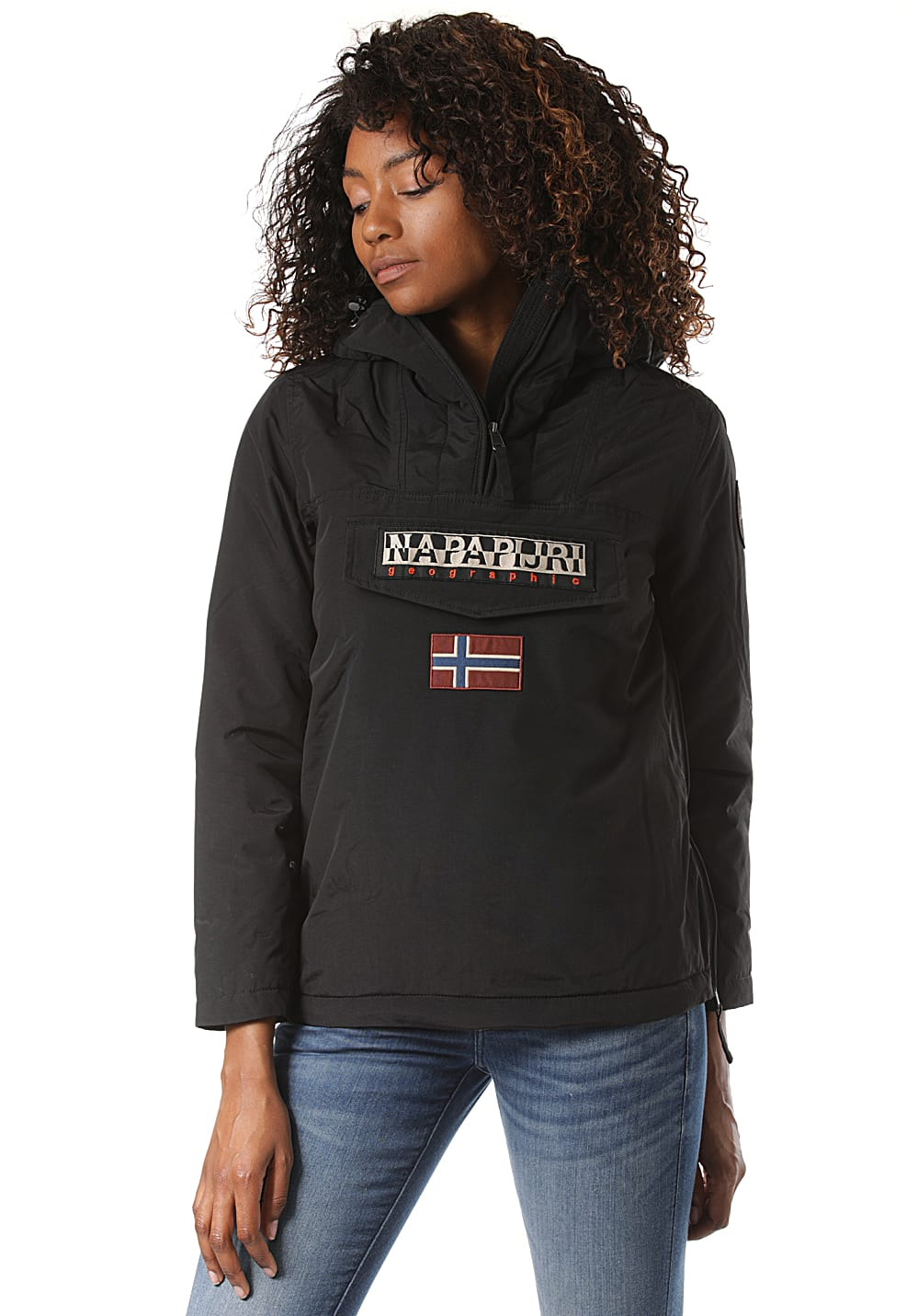Jacken für Frauen - Napapijri Rainforest Winter 3 Jacke für Damen Schwarz  - Onlineshop Planet Sports
