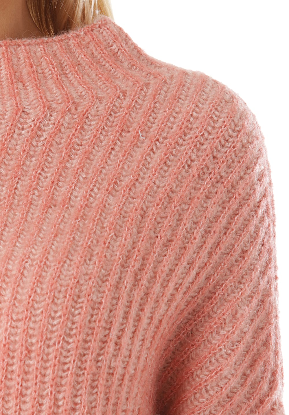 Damen Low Für Pink Strickpullover Rip Curl High Crew 54RjAL