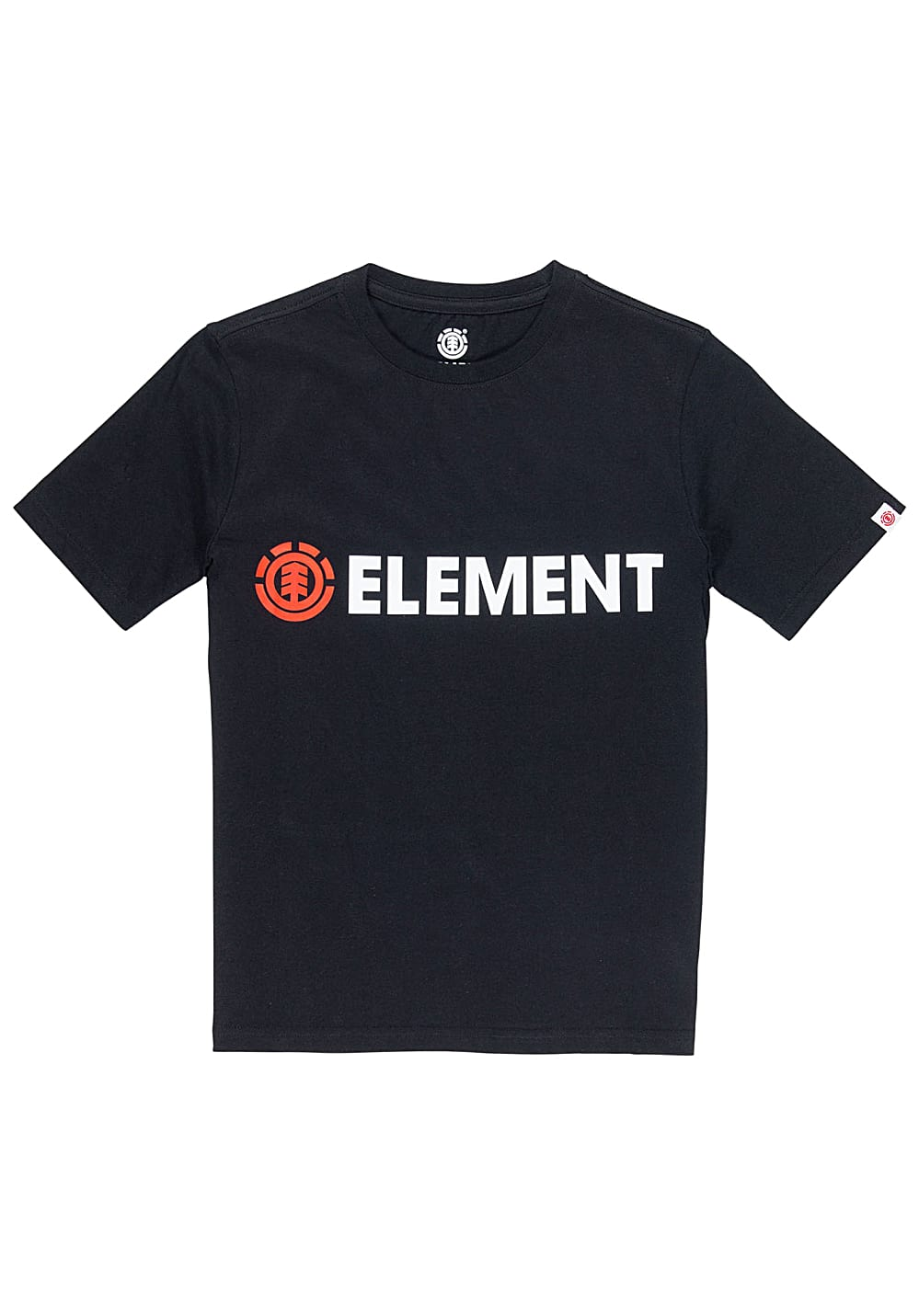 Boysoberteile - Element Blazin T-Shirt für Jungs Schwarz - Onlineshop Planet Sports