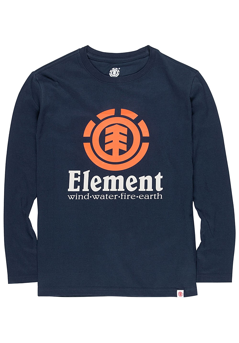 Boysoberteile - Element Vertical Langarmshirt für Jungs Blau - Onlineshop Planet Sports