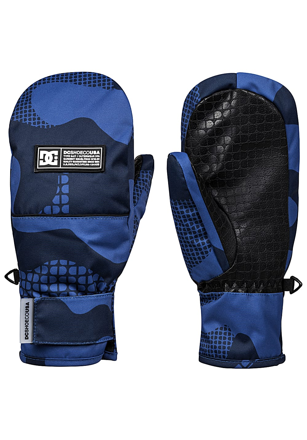 Boysaccessoires - DC Franchise Mitt Snowboard Handschuhe Blau - Onlineshop Planet Sports