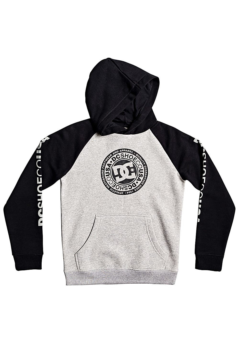 Boysoberteile - DC Circle Star Kapuzenpullover für Jungs Grau - Onlineshop Planet Sports