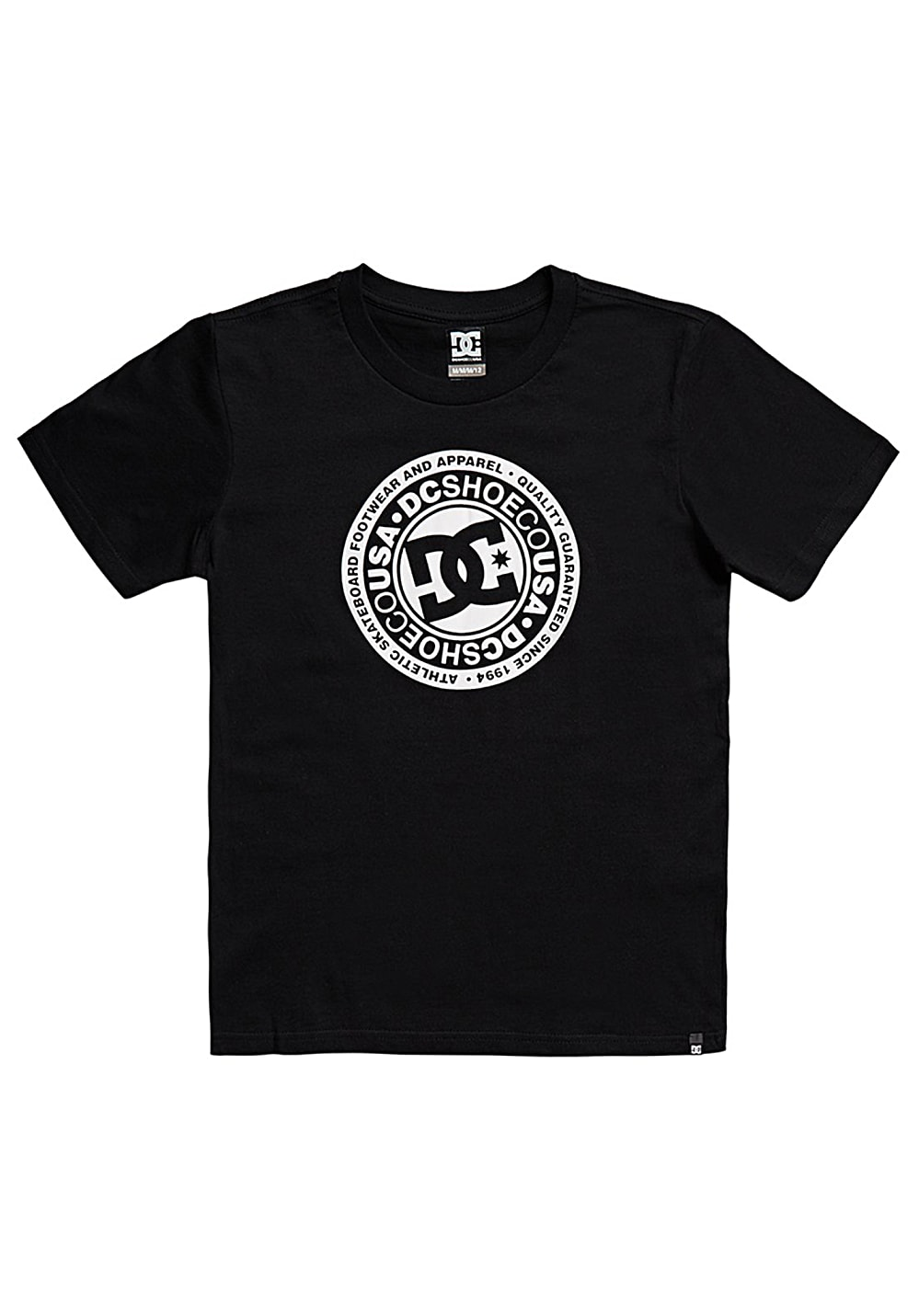 Boysoberteile - DC Circle Star 8 16 T-Shirt für Jungs Schwarz - Onlineshop Planet Sports