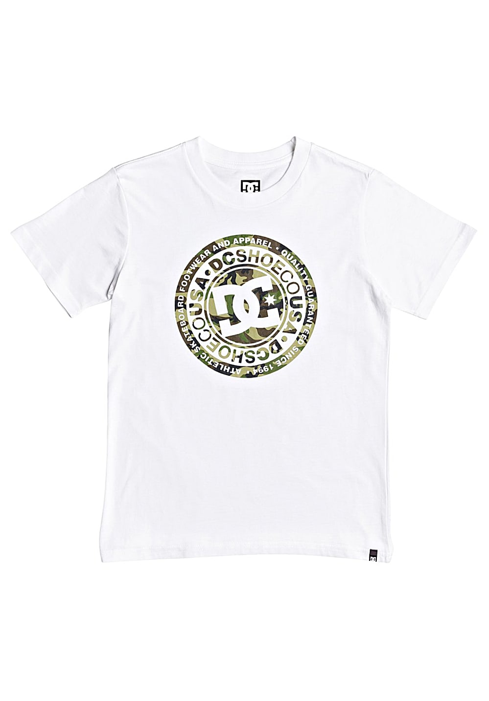 Boysoberteile - DC Circle Star 8 16 T-Shirt für Jungs Camouflage - Onlineshop Planet Sports