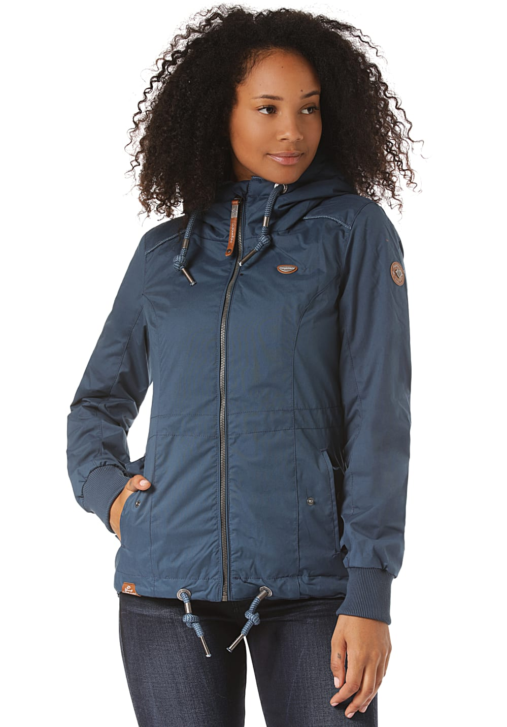 Jacken - ragwear Danka Jacke für Damen Blau  - Onlineshop Planet Sports