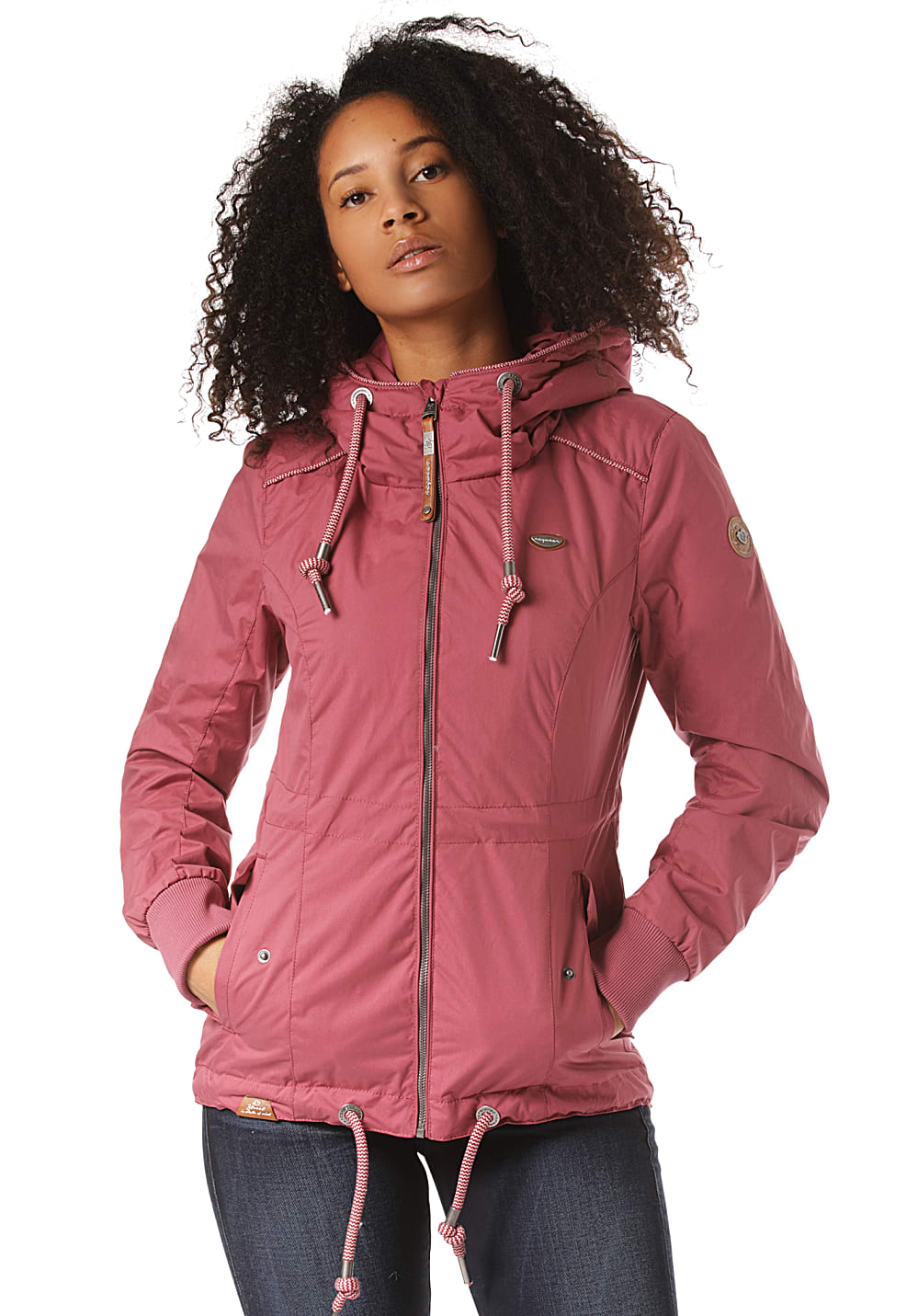 Jacken - ragwear Danka Jacke für Damen Rot  - Onlineshop Planet Sports