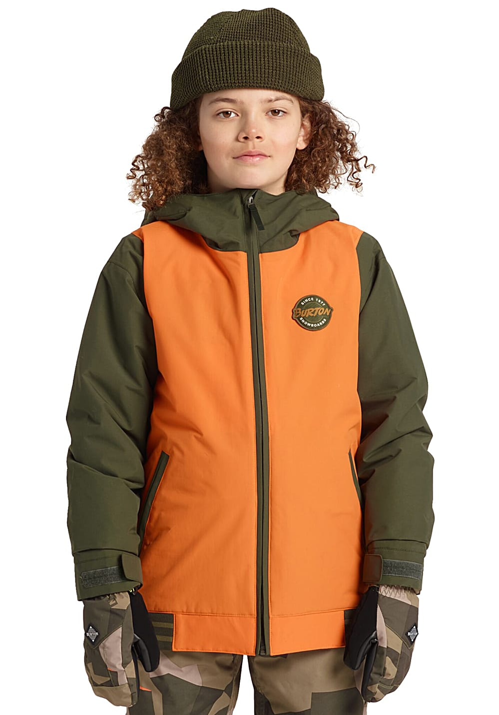 Boysregenwinter - Burton Game Day Snowboardjacke für Jungs Orange - Onlineshop Planet Sports