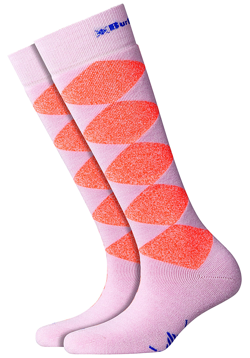 Socken - Burlington Snow Rhomb Girl Snowboard Socken für Damen Pink  - Onlineshop Planet Sports