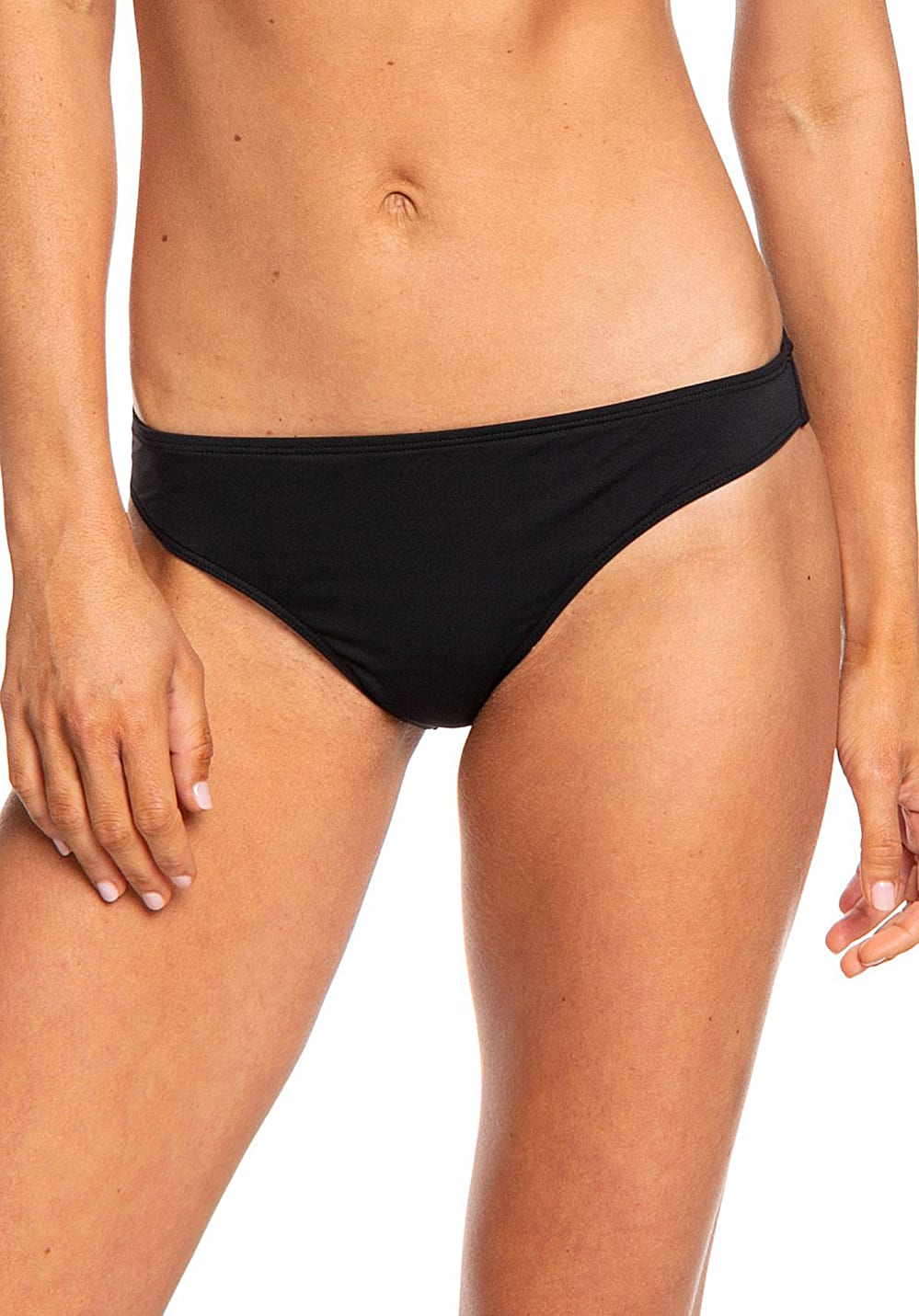 Bademode - Roxy Beach Classics Regular Bikini Hose für Damen Schwarz  - Onlineshop Planet Sports