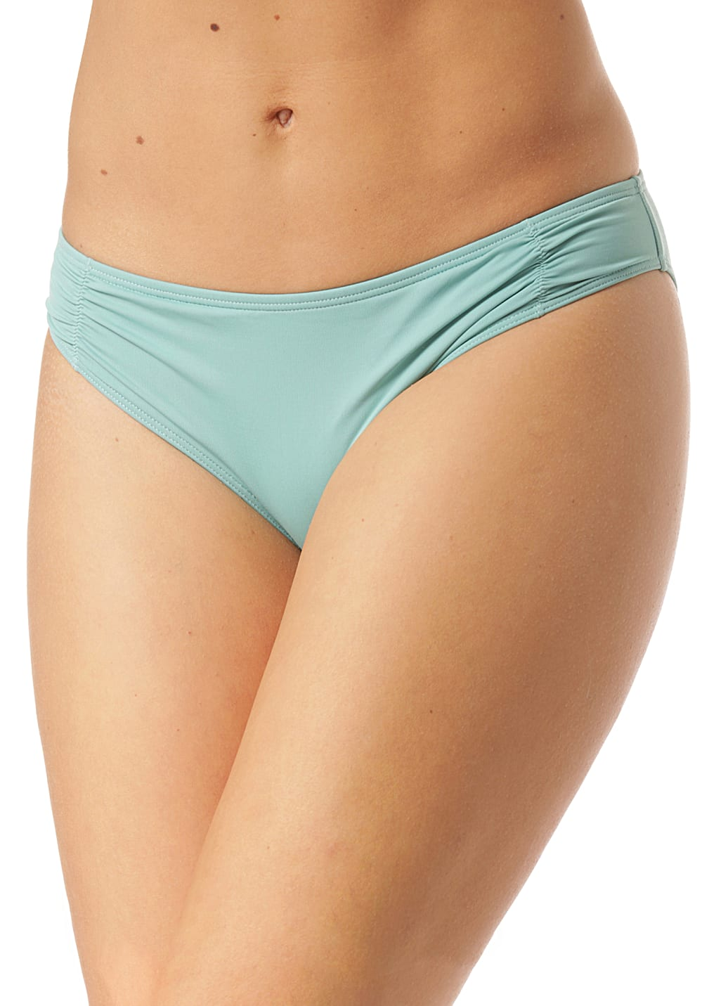 Bademode - Roxy SD Beach Classics Full Bottom Bikini Hose für Damen Grün  - Onlineshop Planet Sports