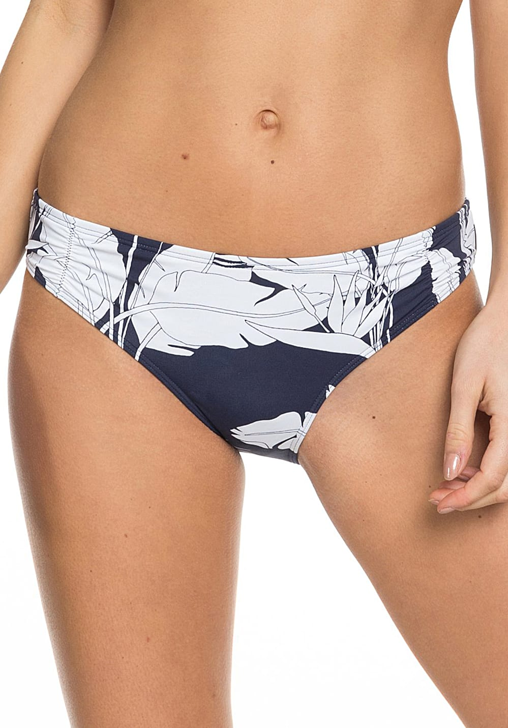 Bademode - Roxy PT Beach Classics Full Bottom Bikini Hose für Damen Blau  - Onlineshop Planet Sports