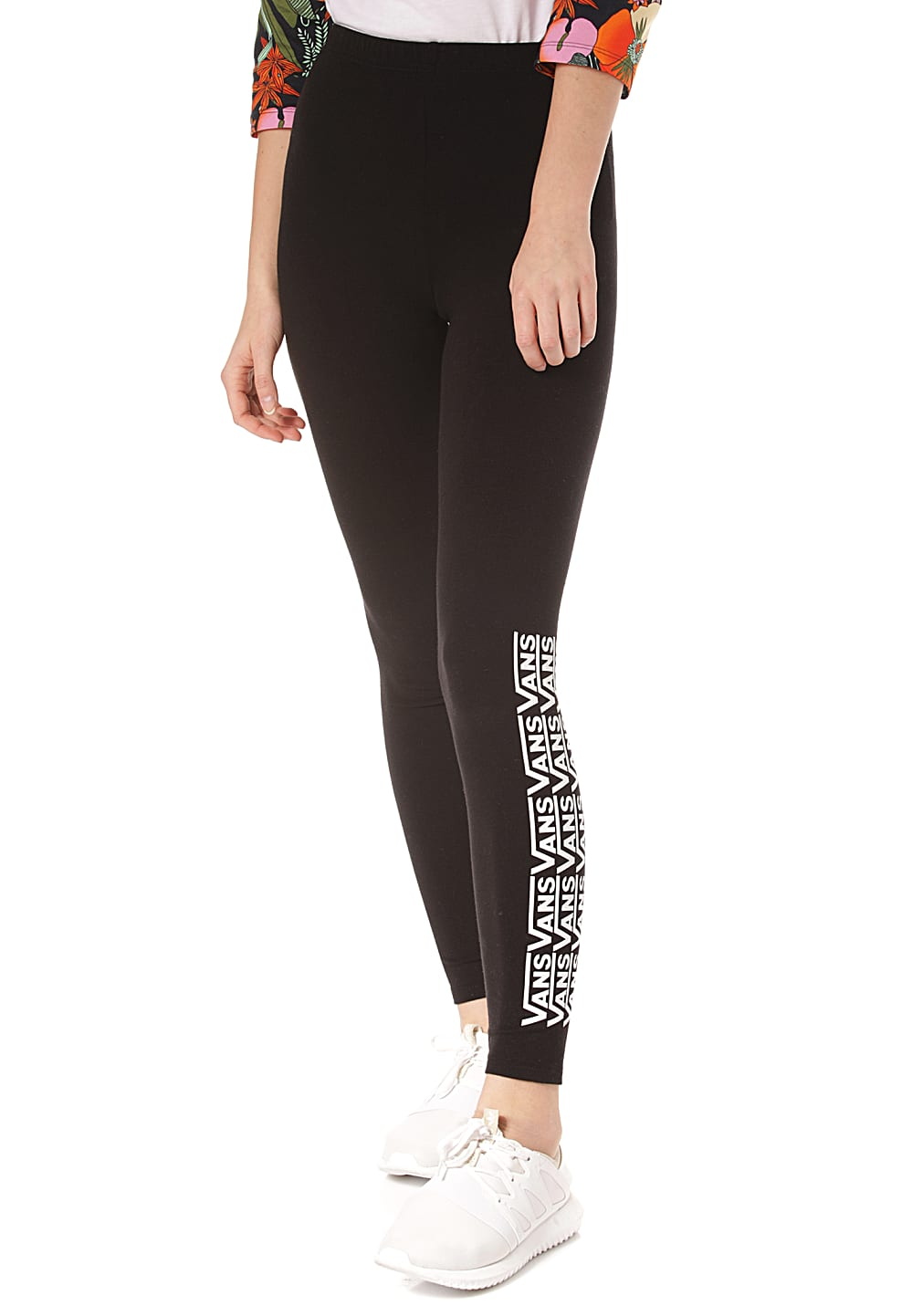 Hosen - VANS Chalkboard Fair Well Leggings für Damen Schwarz  - Onlineshop Planet Sports