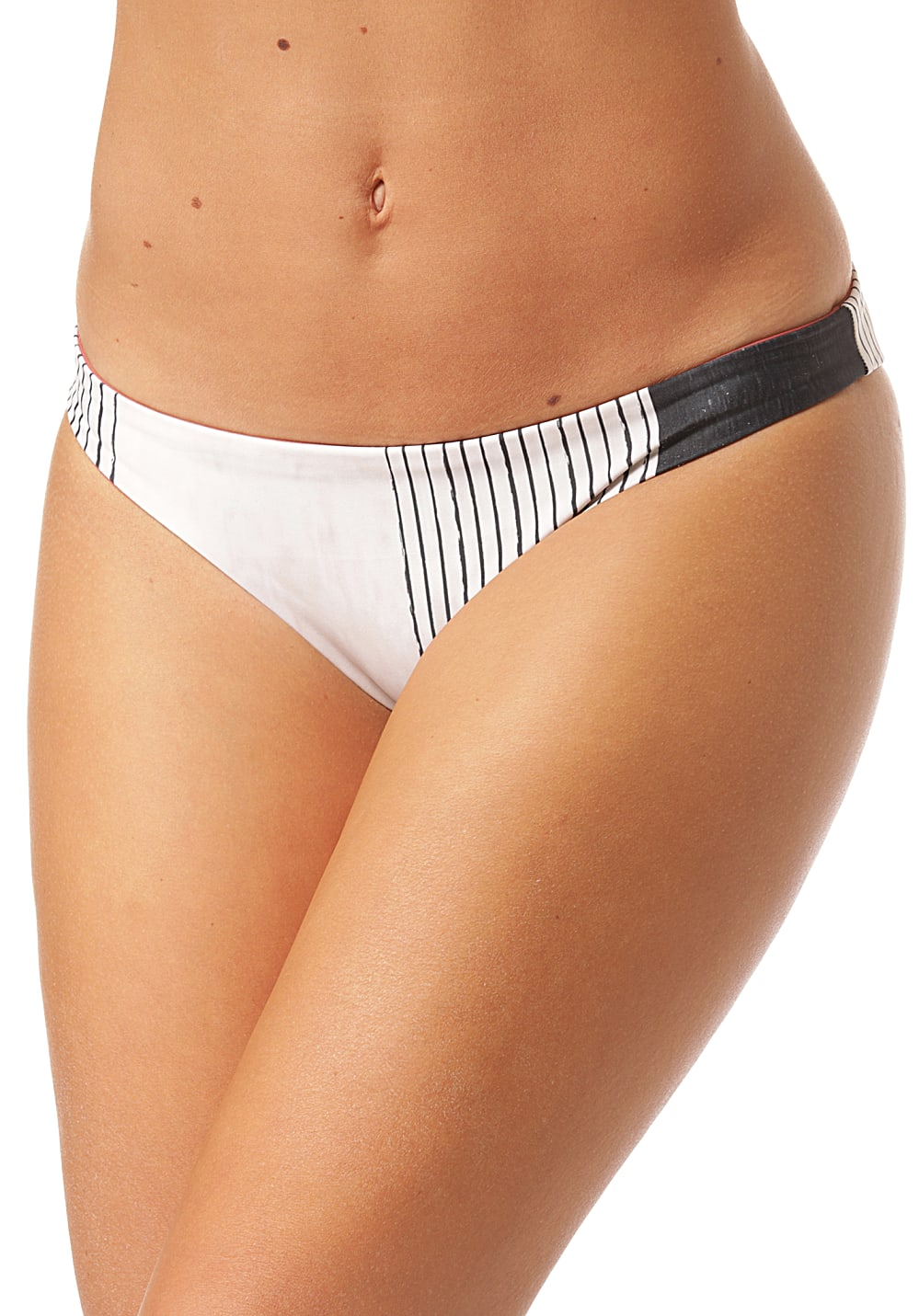 Bademode - Rip Curl Open Road Revo Good Bikini Hose für Damen Streifen  - Onlineshop Planet Sports