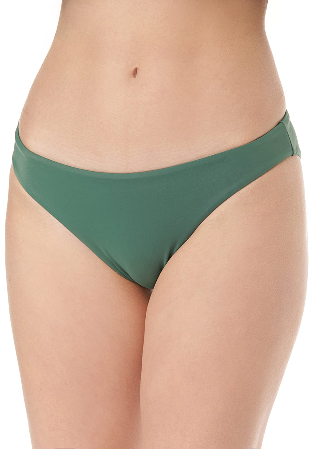 Bademode - RVCA Solid Full Bikini Hose für Damen Grün  - Onlineshop Planet Sports