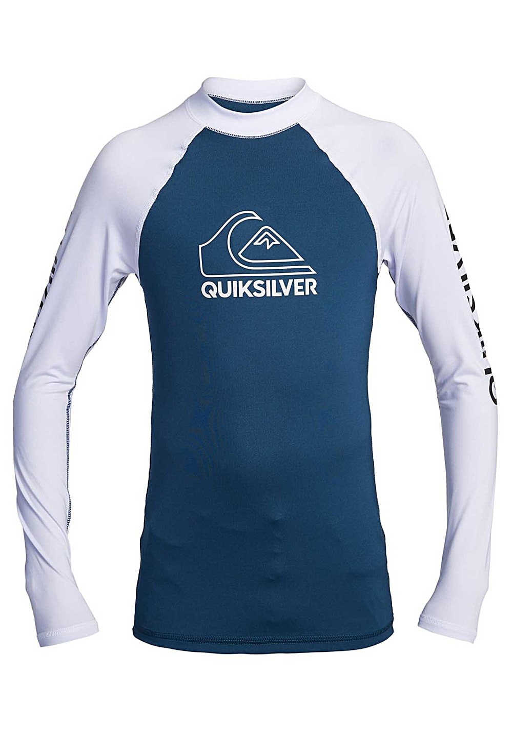 Boysbademode - Quiksilver On Tour L S Lycra für Jungs Blau - Onlineshop Planet Sports