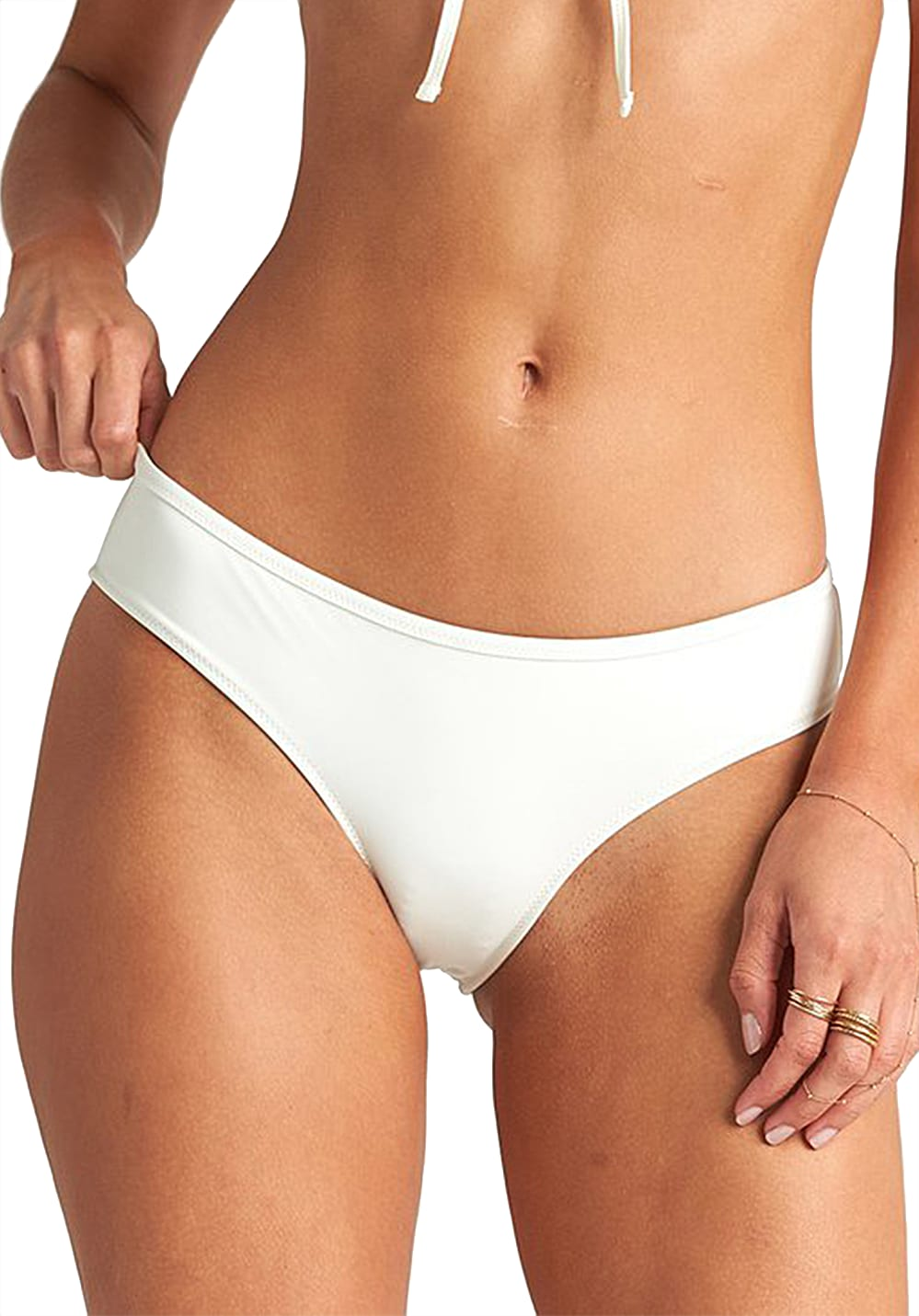 Bademode - BILLABONG Onyx Wave Hawaii Lo Bikini Hose für Damen Weiß  - Onlineshop Planet Sports