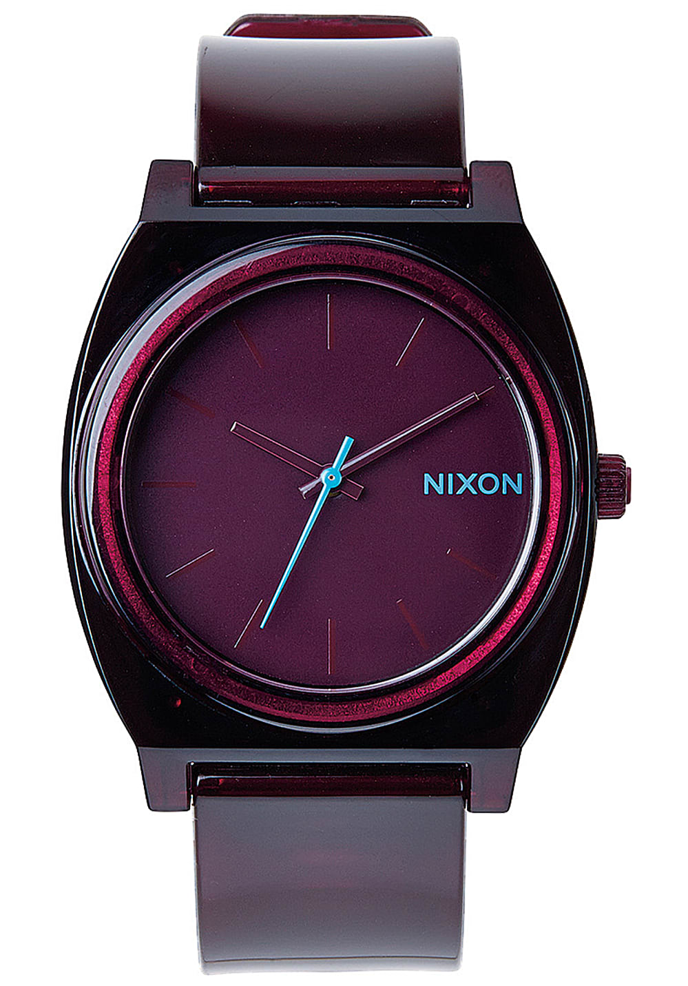 nixon time teller p uhr f r herren rot planet sports. Black Bedroom Furniture Sets. Home Design Ideas