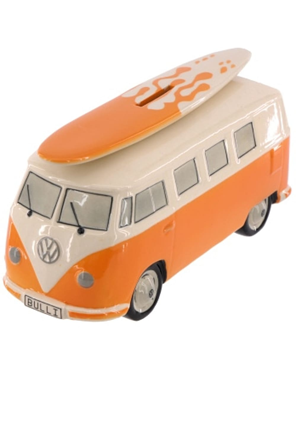 van one classic cars vw surf bulli t1 spardose accessoire orange planet sports. Black Bedroom Furniture Sets. Home Design Ideas
