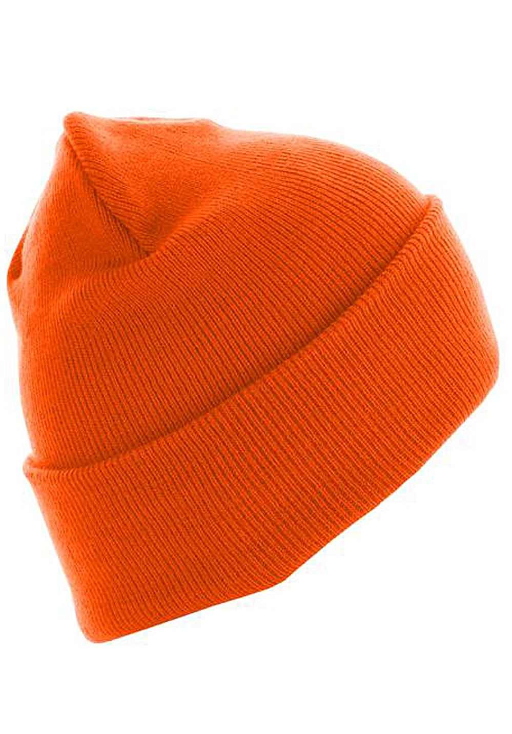 MSTRDS Beanie Basic Flap Long Version - Mütze - Orange - Planet Sports 5036e7e14ab