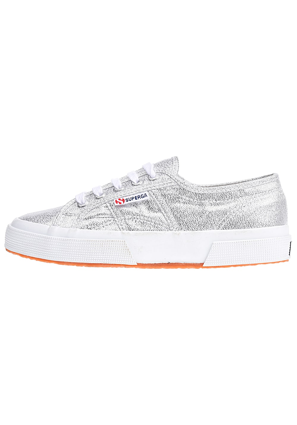 sports shoes 90853 5151d SUPERGA 2750-Lamew - Sneaker für Damen - Silber - Planet Sports