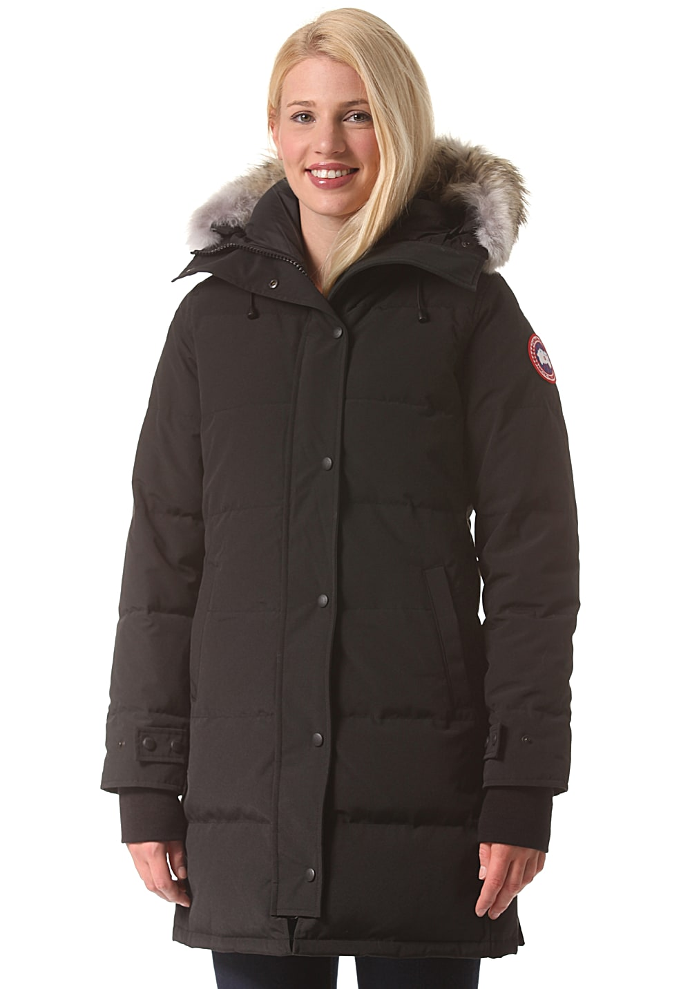 canada goose shelburne funktionsjacke f r damen schwarz planet sports. Black Bedroom Furniture Sets. Home Design Ideas