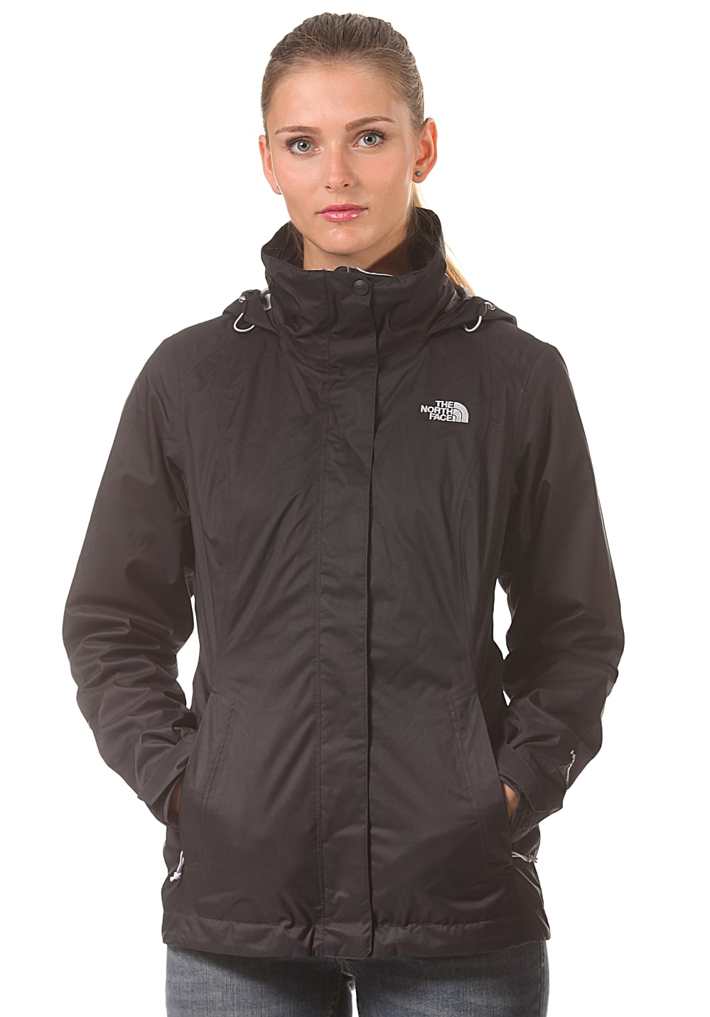 THE NORTH FACE Evolve II Triclimate Outdoorjacke für Damen Schwarz