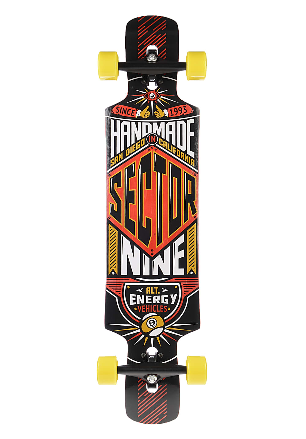 sector 9 slingshot longboard rot planet sports. Black Bedroom Furniture Sets. Home Design Ideas
