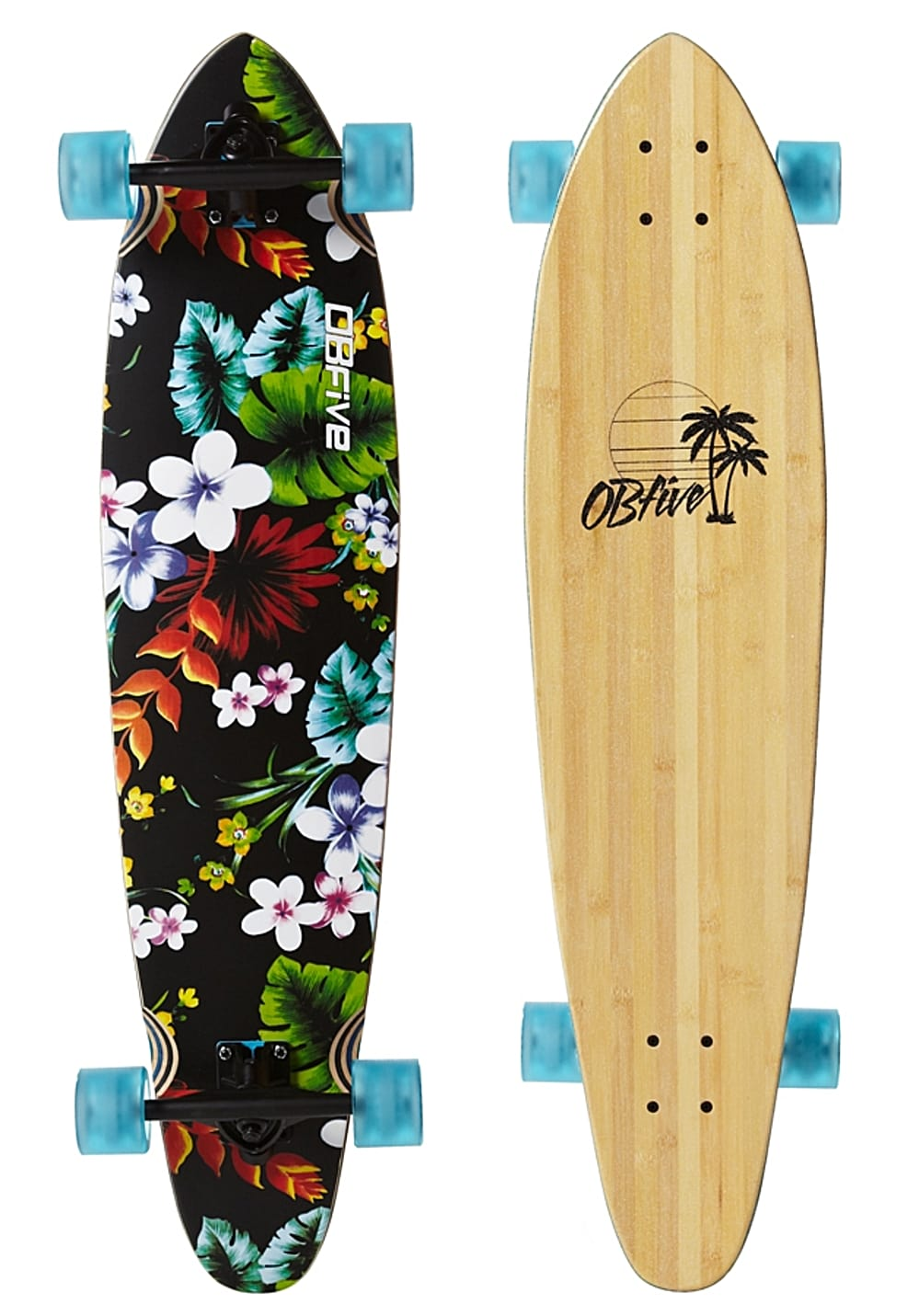 ob5 spring break 38 longboard mehrfarbig planet sports. Black Bedroom Furniture Sets. Home Design Ideas