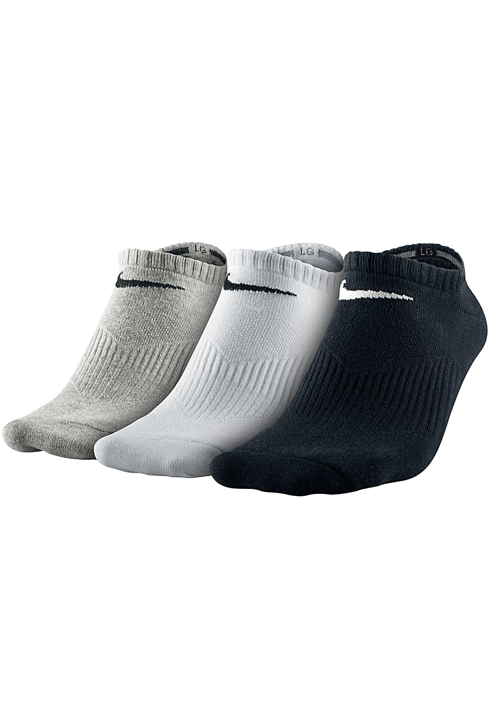 nike sportswear 3pack lightweight no show socken. Black Bedroom Furniture Sets. Home Design Ideas