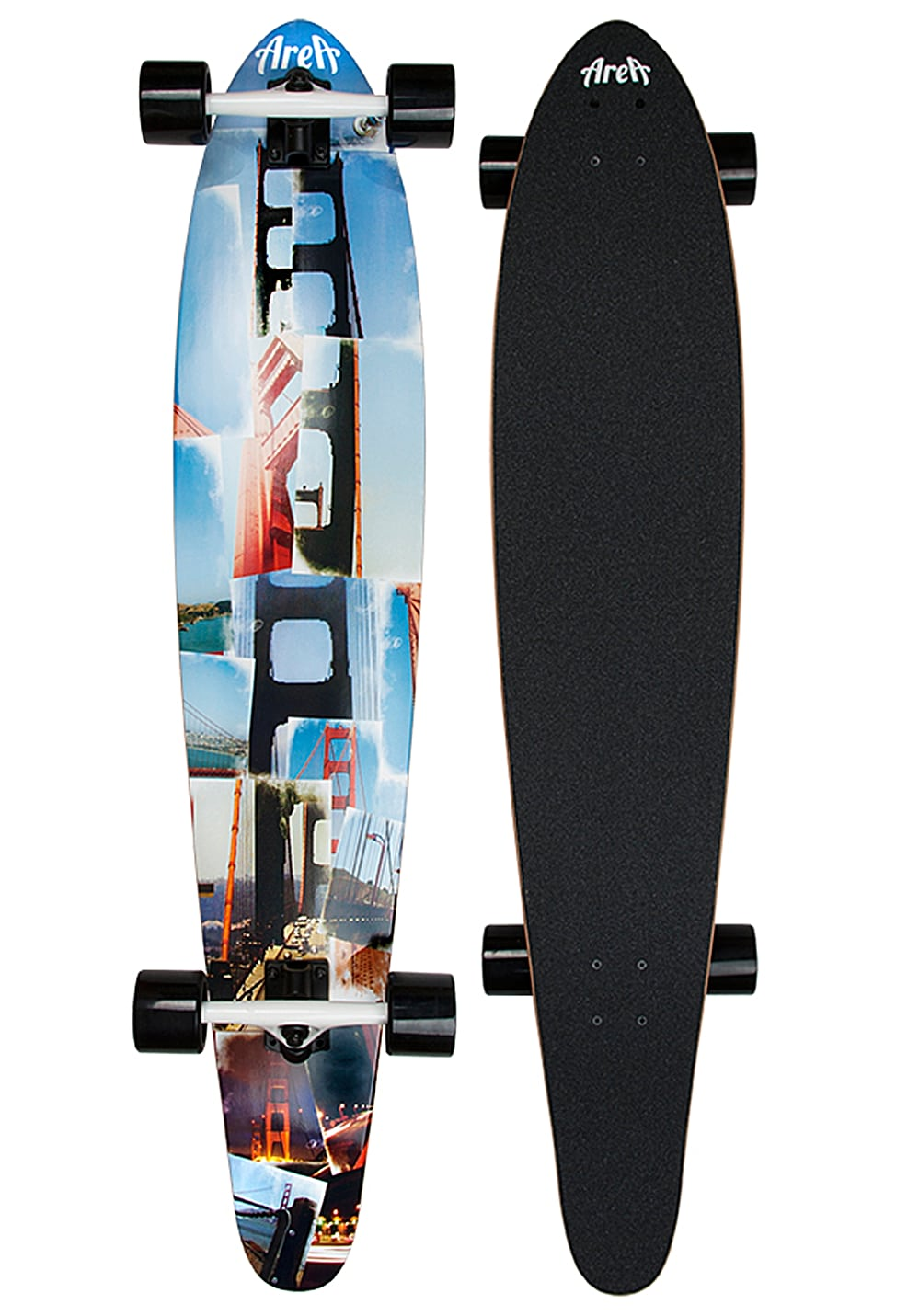 area san fran longboard blau planet sports. Black Bedroom Furniture Sets. Home Design Ideas