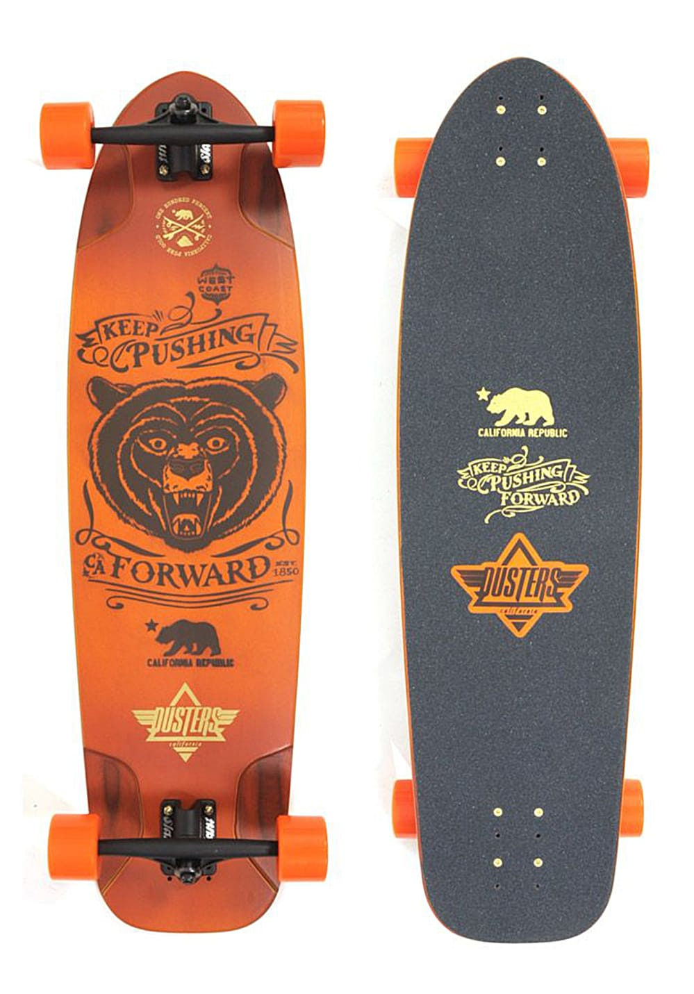 dusters kodiak longboard mehrfarbig planet sports. Black Bedroom Furniture Sets. Home Design Ideas