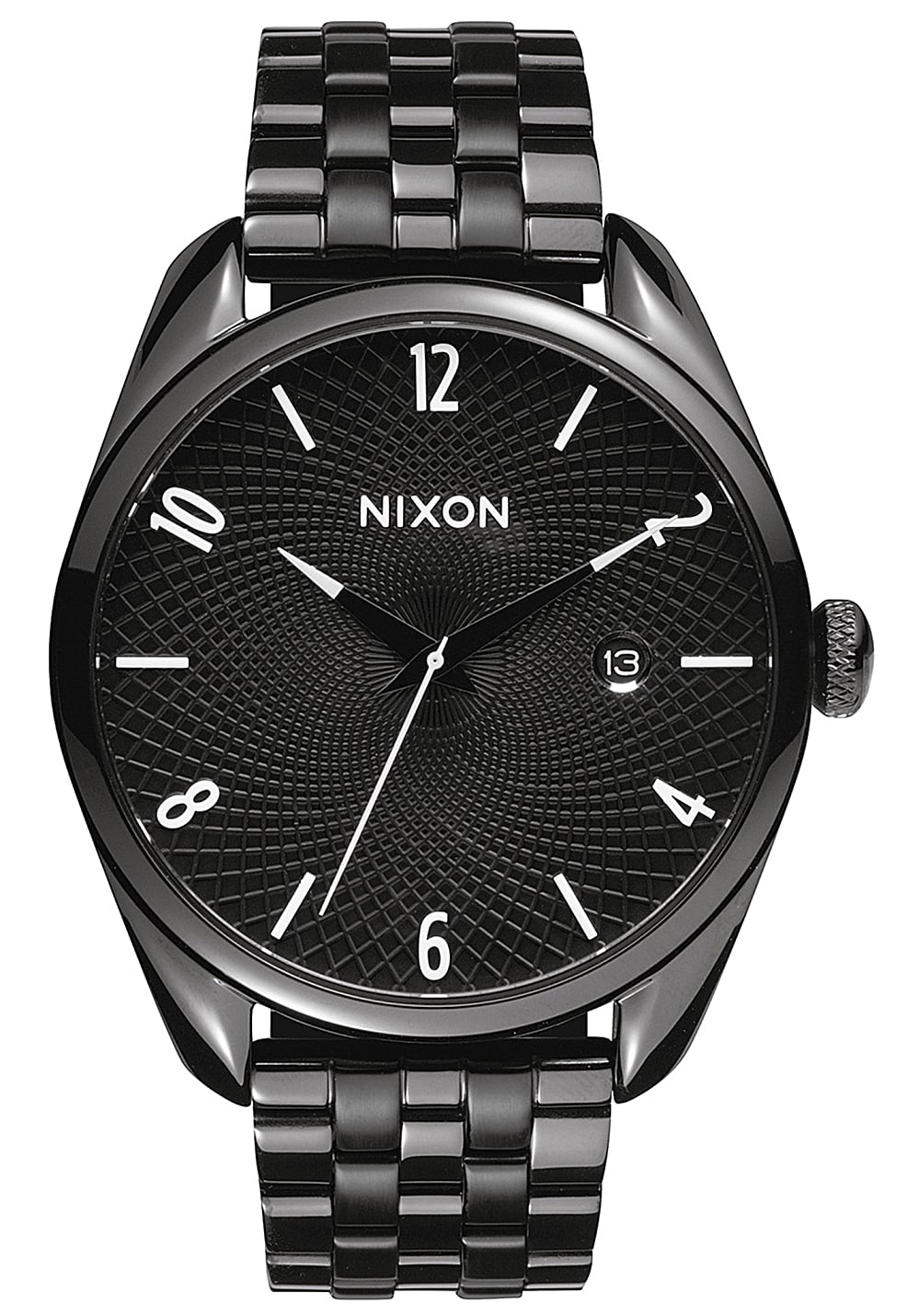 nixon bullet uhr f r damen schwarz planet sports. Black Bedroom Furniture Sets. Home Design Ideas