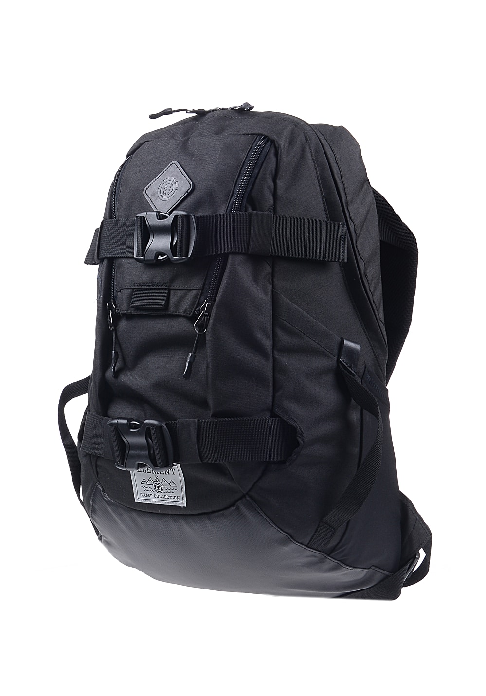 element the daily rucksack f r herren schwarz planet sports. Black Bedroom Furniture Sets. Home Design Ideas