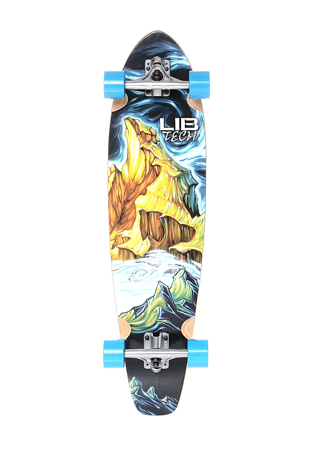 lib tech parillo teton cruiser 9 0 longboard mehrfarbig planet sports. Black Bedroom Furniture Sets. Home Design Ideas
