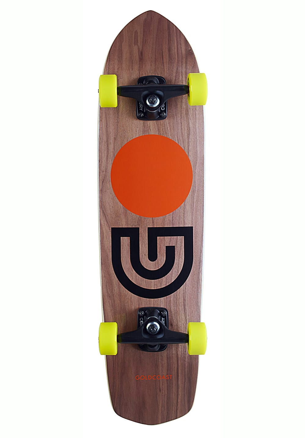 goldcoast slapstick 31 longboard schwarz planet sports. Black Bedroom Furniture Sets. Home Design Ideas
