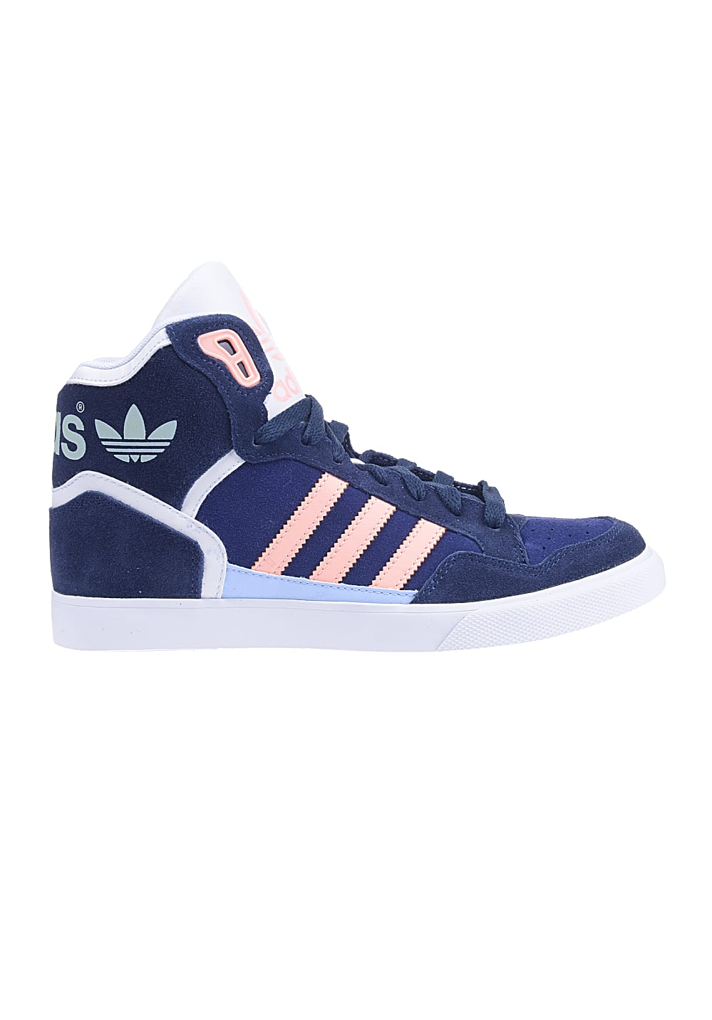 adidas extaball sneaker f r damen blau planet sports. Black Bedroom Furniture Sets. Home Design Ideas