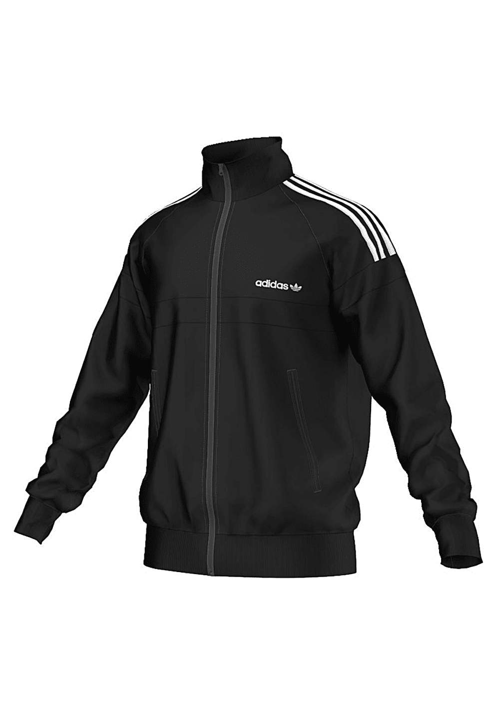 adidas itasca tt sweatjacke f r herren schwarz. Black Bedroom Furniture Sets. Home Design Ideas