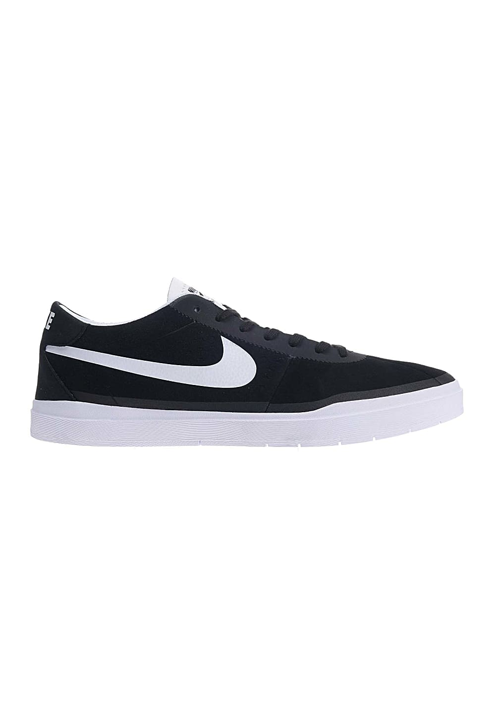 Nike Sb Bruin Hyperfeel Black White Skate Shoes