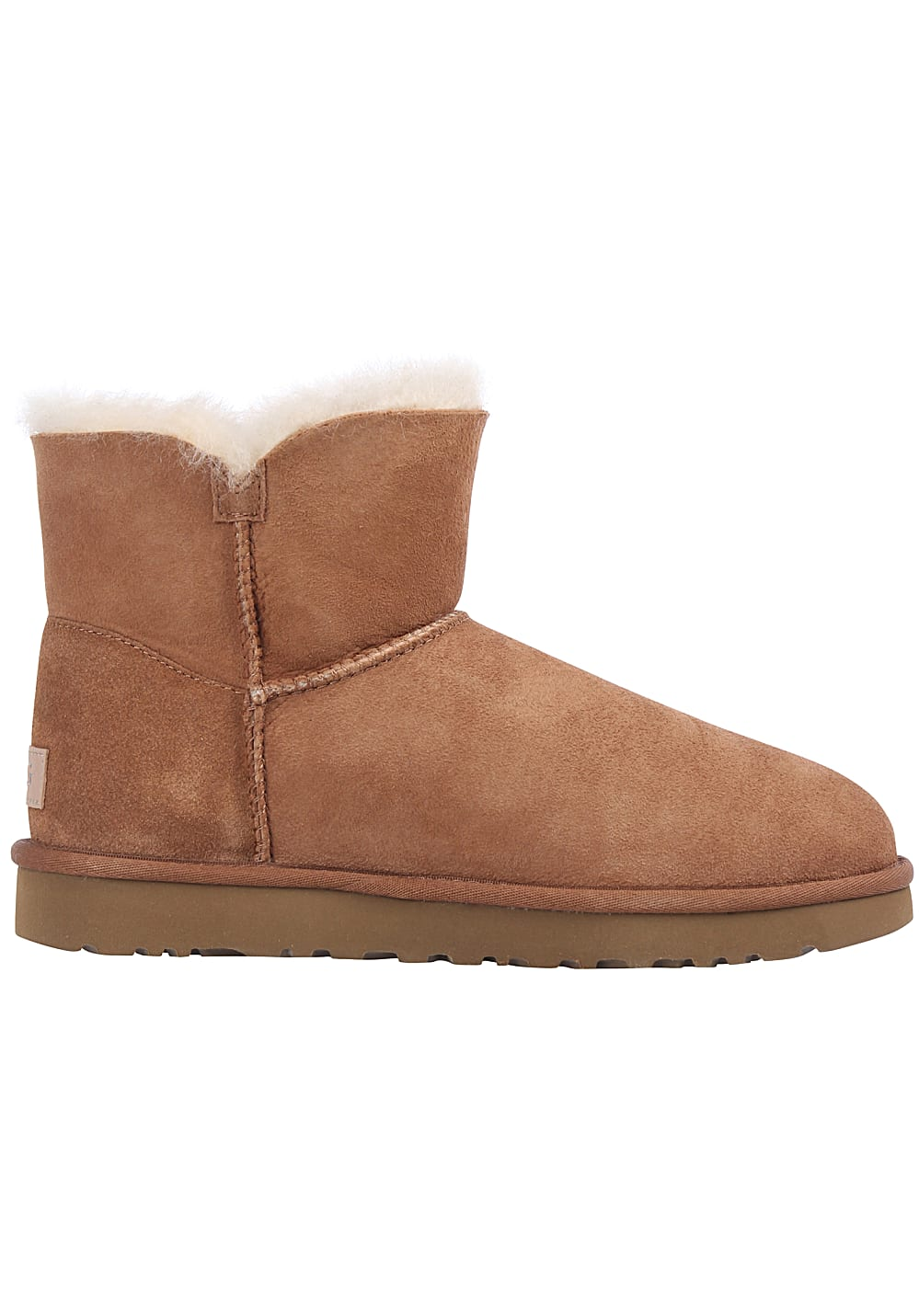 8572dfa72a6f49 UGG Mini Bailey Button II - Stiefel für Damen - Braun - Planet Sports