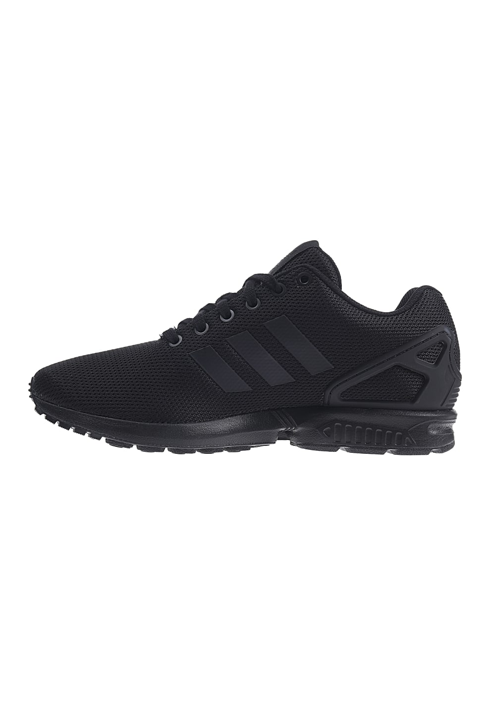 adidas originals zx flux sneakers damen schwarz weiß