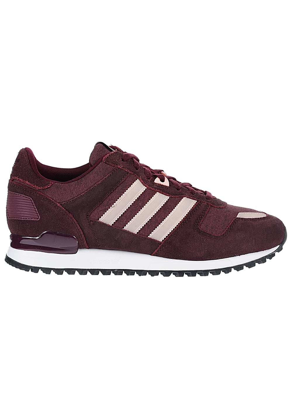 adidas zx 700 sneaker f r damen rot planet sports. Black Bedroom Furniture Sets. Home Design Ideas