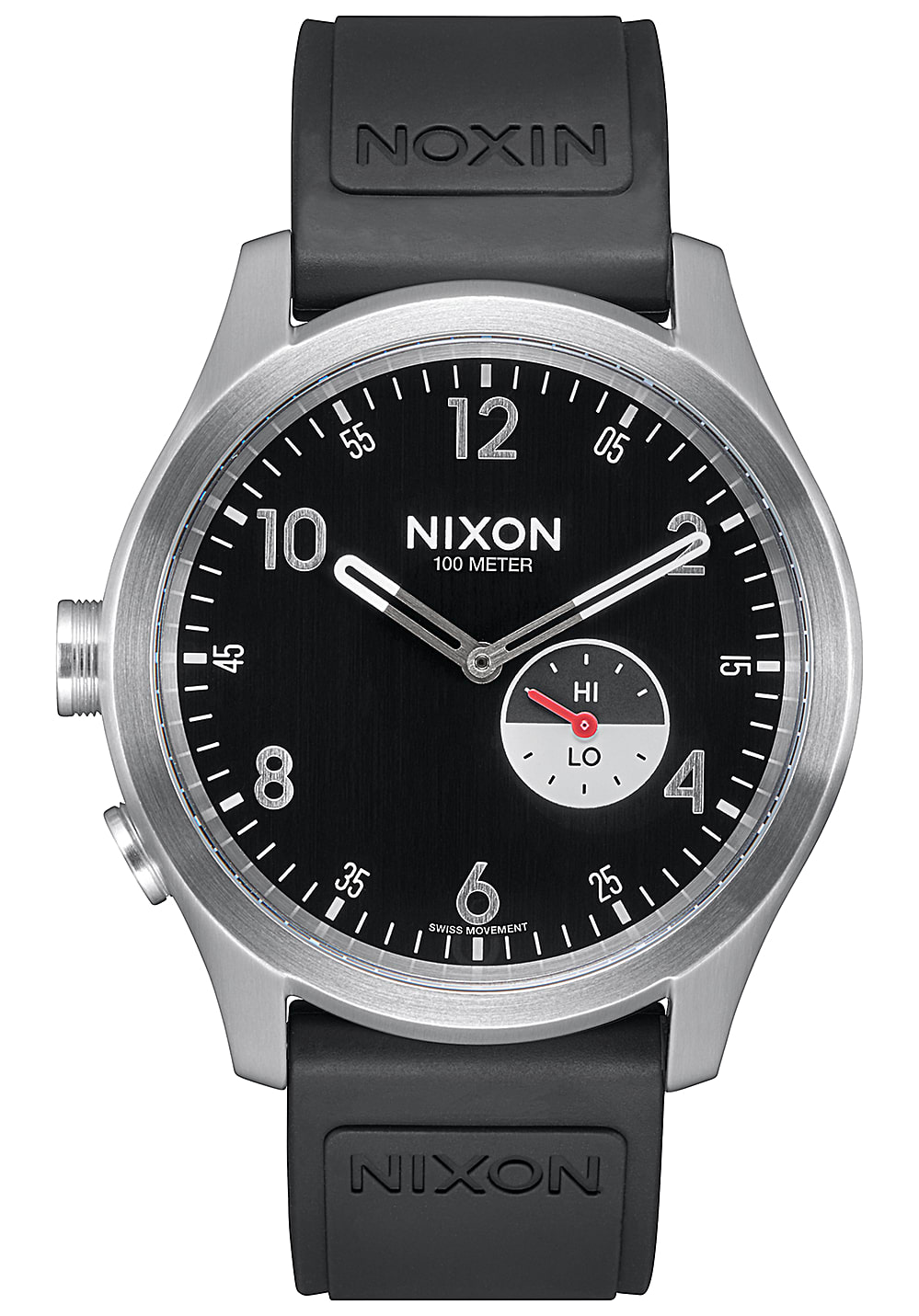 nixon beacon sport uhr f r herren schwarz planet sports. Black Bedroom Furniture Sets. Home Design Ideas